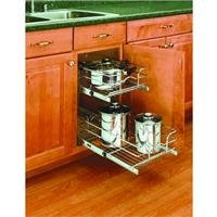 Rev-A-Shelf 2-Tier Pull-Out Cabinet Organizer by Rev a Shelf (2-tier-pull-out-organizer)