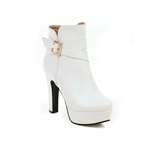 agoolar-womens-zipper-high-heels-pu-solid-low-top-boots-white-33