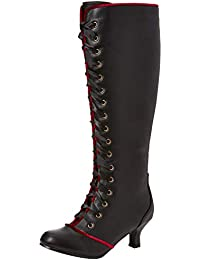 b54742605ccf Joe Browns Womens Vintage Style Lace Up Knee High Boots
