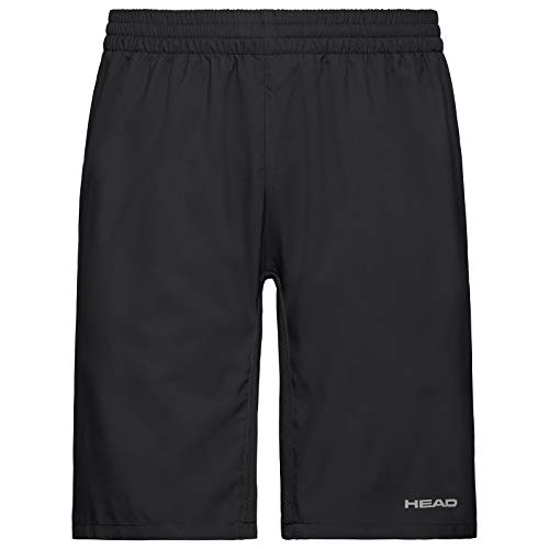 HEAD Jungen Club Bermudas B Shorts, Black, 128