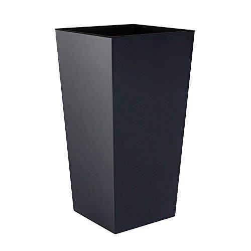 Prosperplast Blumentopf, schwarz, 40x40x75 cm, DURS400-S433