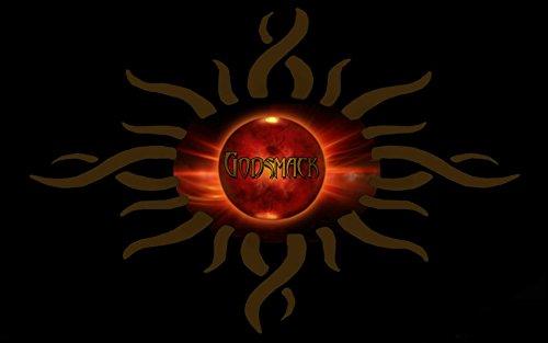 """Godsmack 36 Sully Erna Robbie Merrill Tony Rombola Shannon Larkin-Album fotografico grande in metallo, motivo: Rock Music Band, Best per foto con stampa A3 """"unico"""
