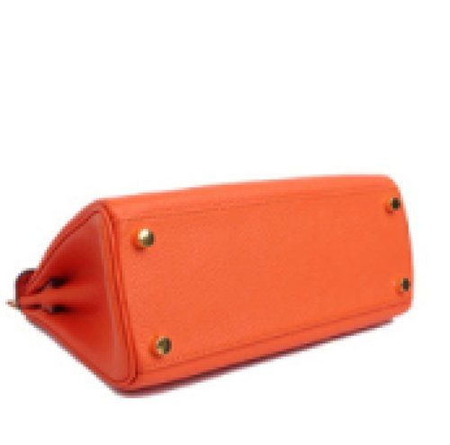 Borse In Pelle Mini Packet Diagonale Portatile Platinum Orange