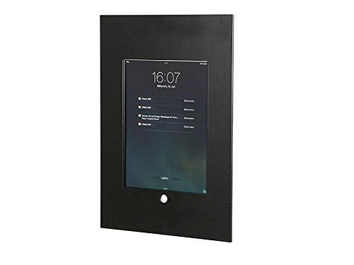 TabLines TWE040 Tablet Wandeinbau Apple iPad Mini, schwarz