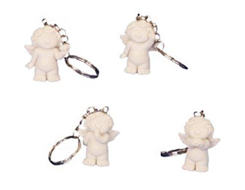 24 x Babyengel Schlüsselanhänger Schlüsselband Polystein