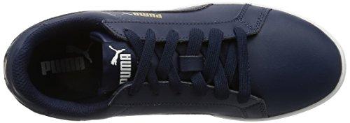 Puma Puma Smash Wns L  Women   s Low-Top Sneakers  Blue  Peacoat-peacoat 11   4 UK  37 EU