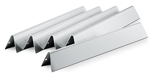 Weber Flavorizer Bars Genesis S Serie Edelstahl 5er Set, schwarz, 17.6 x 2.2 x 9.65 cm, 7620