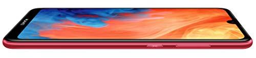 Huawei Y7 2019 Smartphone 32Go, écran Dewdrop HD+ de 6.26 pouces, double caméra dotée d'IA, Dual SIM, batterie de 4000mAh, Rouge