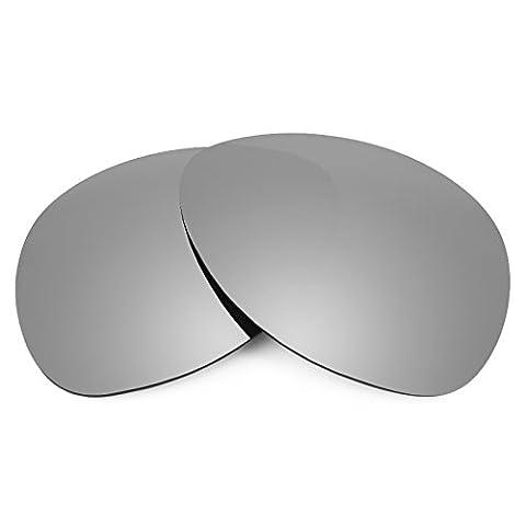Verres de rechange Revant polarisés Titanium pour Oakley Plaintiff