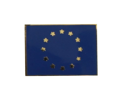 Yantec Flaggenpin Europa rechteckig Pin Anstecknadel Fahnenpin