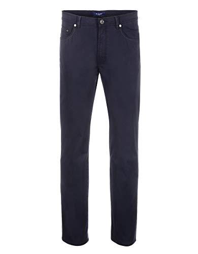 451f6c3617 7 by Adler Mode Herren Hose mit Struktur - Jeans, Stoffhose, Bermuda,  Cargohose - auch in Kurzgrößen erhältlich Marine 27