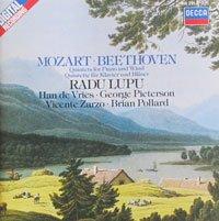 Mozart/Beethoven-Lupu-Quintettes Piano & Vents