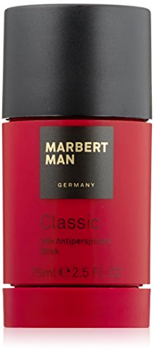 Classic Stick (Marbert Classic homme/man, 24 Hour Antiperspirant Stick, 1er Pack (1 x 75 ml))
