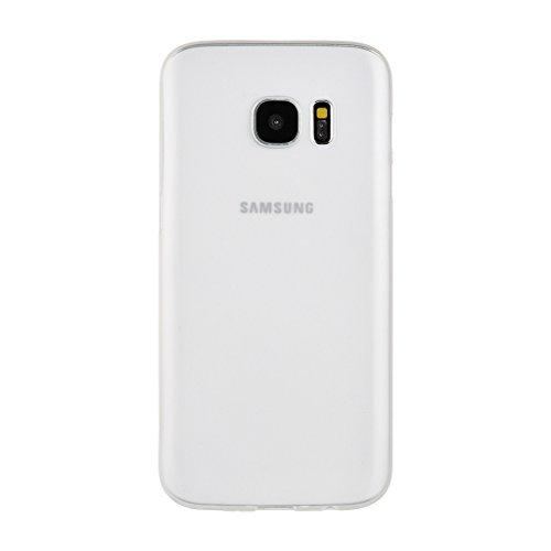 Easyplace®–Cover Case brinata–Ultra Dünn SLIM 0,3MM–WEIß satiniert–Apple iPhone 6/6S Plus–Robuste Schutzhülle Bianco