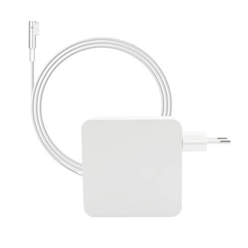 Emsmil MacBook Pro Ladegerät Netzteil - 60W Magsafe L-Tip Notebook Ladegerät Netzteil Verbinder Ersatzstecker Netzteil für Mac Pro mit 13 Zoll Display Vor Mitte 2012 (Mac Pro Notebook 2012)