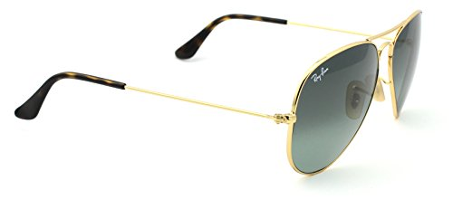 Ray Ban RB3025 181/71 62M Gold/Light Gray Gradient Dark Gray Aviator