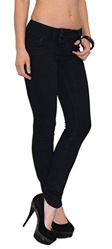 by-tex Damen Röhrenjeans Damen Jeans Skinny Damen Hose Röhre in aktuellen Farben H41