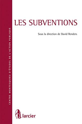 Les subventions