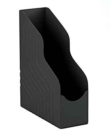 Avery 444BLK Jumbo Magazine Rack, 100 x 323 x 253 mm - Black