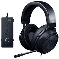 Razer Kraken Tournament Edition - Auriculares Gaming, con Cable, Control de Audio y THX Spatial Audio, Alámbrico, Negro