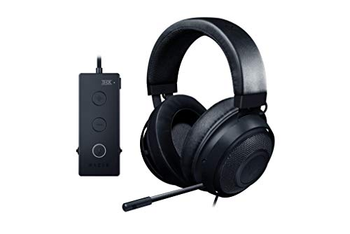 Razer Kraken Tournament Edition - Auriculares para Juegos con Cable y Control de Audio por USB, Color Negro