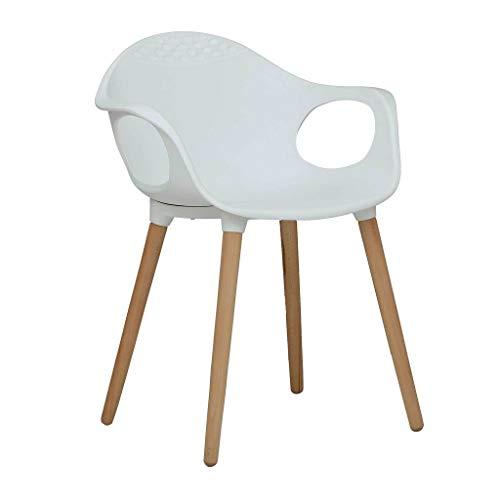RedOAK Benson White Chair - Designer | Accent | Study | Lounge | Dining | Cafeteria