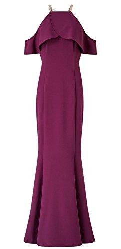 Rita Drop Shoulder Fishtail Dress