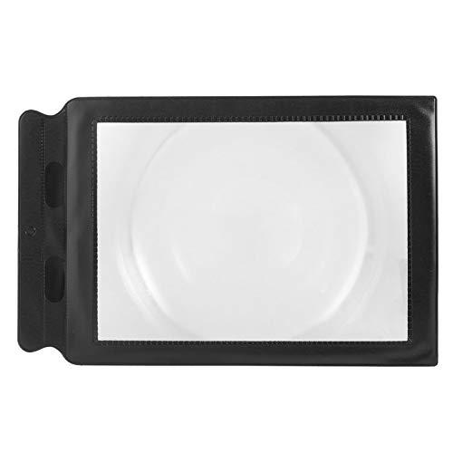 JICHUIO Full Large Flat Page Magnifying Glass Sheet Reading Aid Lens Magnifier - Full Flat Sheet