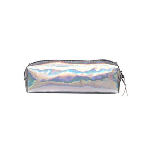 215989bf5 Toamen Bolso De Lentejuelas De Color Doble Moda Unisex Bolso De CosméTicos  Estuche De Maquillaje (