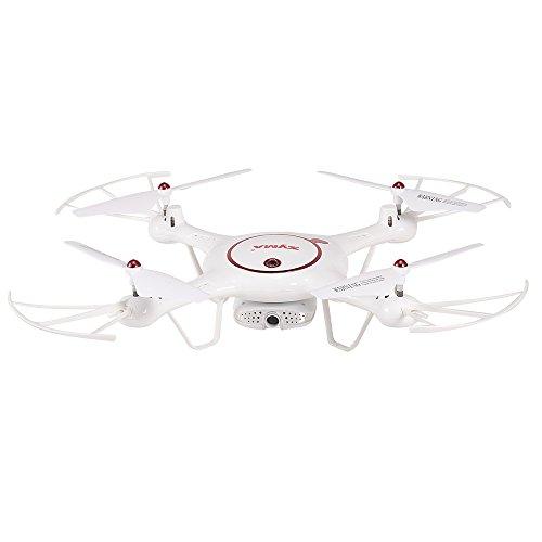 Goolsky originale syma x5uw-d wifi fpv regolabile 720p hd fotocamera rtf flusso ottico posizionamento altitude hold quadcopter (x5uw-d)