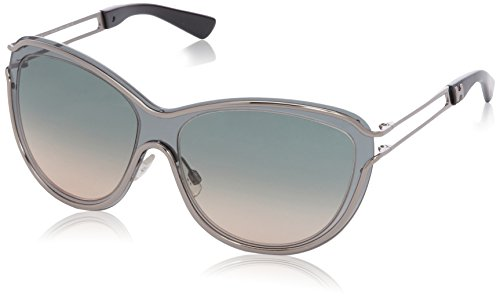 Hogan HO0038 Wayfarer Sonnenbrille, 05B Shaded Dark Grey