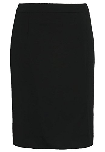 BENETTON Damen Bleistiftrock Rock - black Grösse Gr. 46