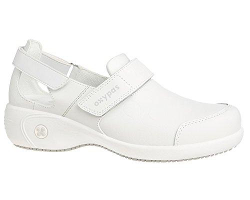Salma wht OXYPAS Chaussures sécurité Blanc de femme vPgFxP