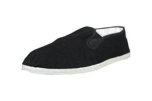 Tai Chi / Kung Fu Schuhe / Slipper mit Stoffsohle Gr. 32