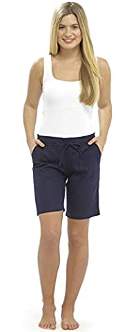 Lora Dora Womens Linen Shorts With Elasticated Waist Holiday Beach Hot Pants Ladies Size UK 10-18