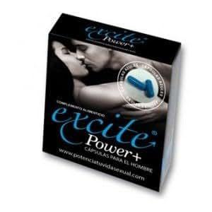 Aphrodisiaque Excite power+. Viagra Naturel. - Pack de 2 comprimés 816,5 mg - Stimuler votre vie sexuelle -