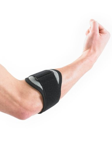 Tennisarm Muskel (Neo-G Rehab Xcelerator Tennis/Golf Ellbogenstütze mit Silikon Einsatz)