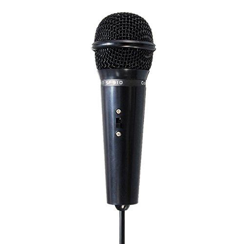Tutoy 3.5 mm Kondensator Mikrofon Mic Recording Ständer Für Pc Laptop Desktop Yy Skype-Schwarz