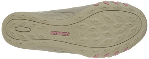 Skechers Breathe-EasyRelaxation, Sneaker Donna Natural/Pink