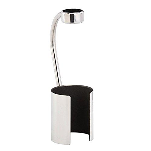 Design for your heart Tropfschutz Vino - Silber - aus Alu - Weinflaschenhalter - Drop Stop -...