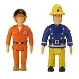 Der Satz von Feuerwehrmann Und Tom Thomas Sam von 2 Spiel-Satz bemalt Spielzeug [Spielzeug] Test