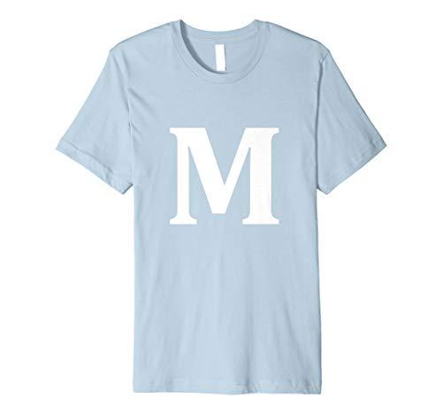 lloween-Kostüm Tshirt Big M Alphabet Candy ()