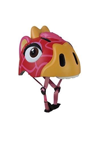 Abus Gina The Loving Giraffe Casco, Infantil, Rojo (Rouge/Jaune), 49-55 cm