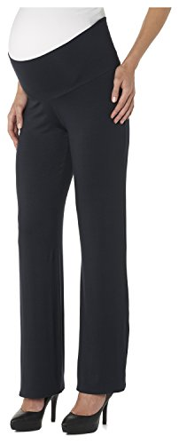 Noppies Damen Pants jrsy UTB Ninette Umstandsschlafanzughose, per pack Blau (Dark Blue C165), 36 (Herstellergröße: S)