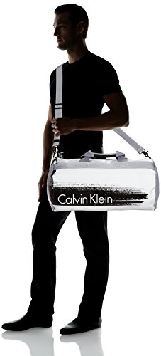 CALVIN KLEIN ACCESSORI - Cooper Weekender - Sac Homme STONE