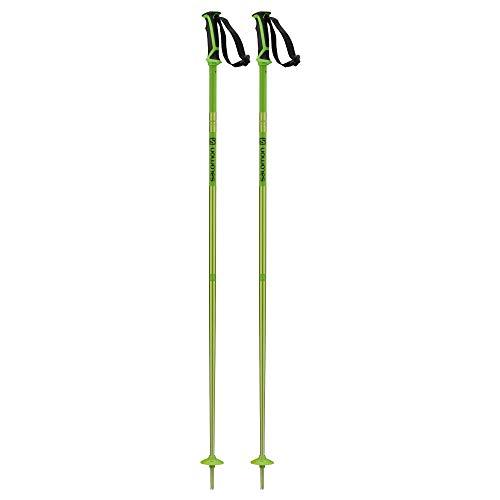 Salomon, Bâtons de Ski Unisexe, 115 cm, Aluminium, ARCTIC, Vert, L40558900