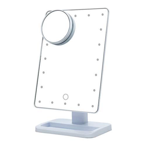LEDHZJYLW Led Kosmetikspiegel Verstellbare Vanity Tischlampe 20 LEDs Beleuchtet Led Touchscreen...