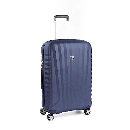 Roncato Trolley Medio M Rigido Uno Zsl Premium 2.0 - cm 72x46.5x24 L 72 Ultra-leggero Resistente Organizer Interno Chiusura TSA Garanzia 10 anni