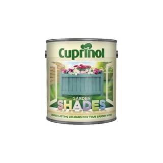 Cuprinol 2.5 Litre Garden Shades Standard Colours Somerset Green