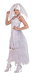 Folat 63400 - Diadema de Halloween para mujer (talla S-M), color blanco